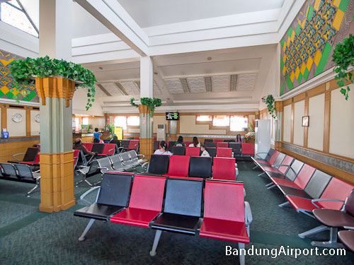 Bandung Airport Departures Waiting Area