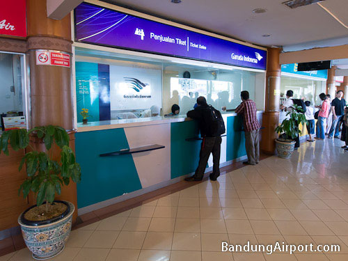 Garuda Indonesia Sales Counter