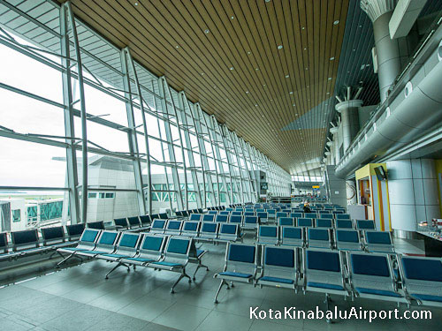 Kota Kinabalu Airport Departures Waiting Area