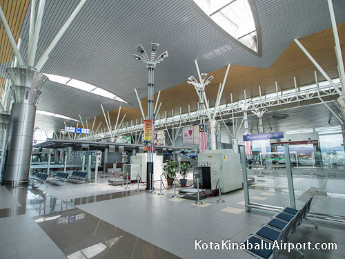 Kota Kinabalu Airport Check-in Counters