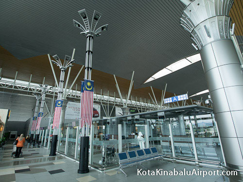 Kota Kinabalu Airport Check-in Area