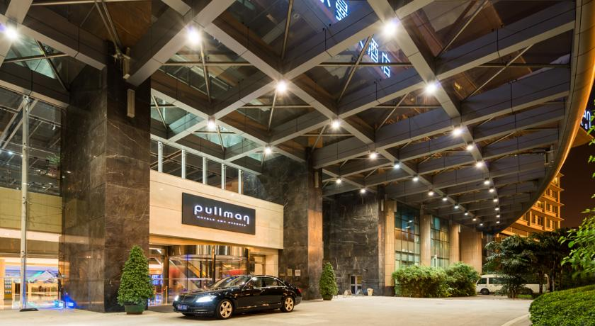 Pullman Guangzhou Airport Hotel Entrance