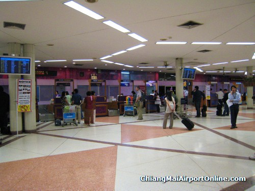 Chiang Mai Airport Domestic Terminal Check-in
