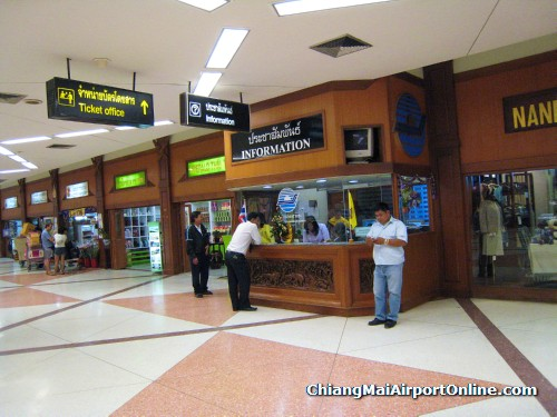 Chiang Mai Airport Information Counter