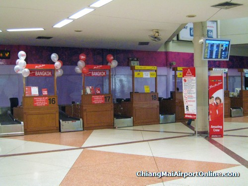Domestic Terminal - AirAsia check-in