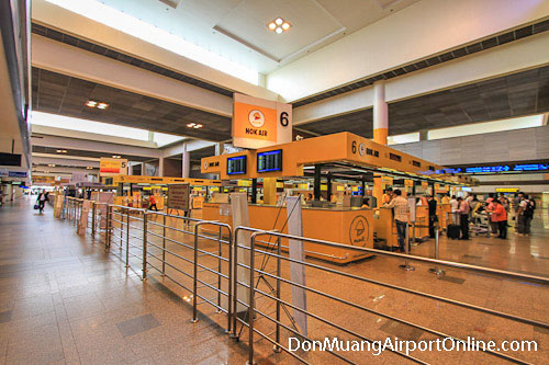 Don Muang Airport Check-in Counters