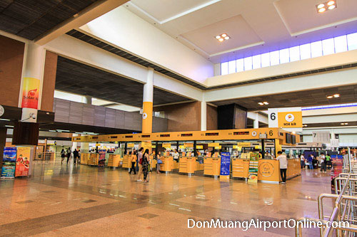 Don Muang Airport Departures Level