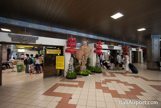 Bali Denpasar Airport International Departures Entrance