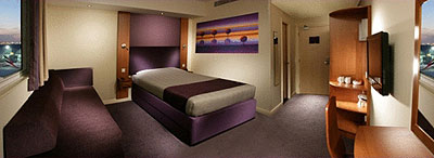 Room at Premier Inn Dubai Airport