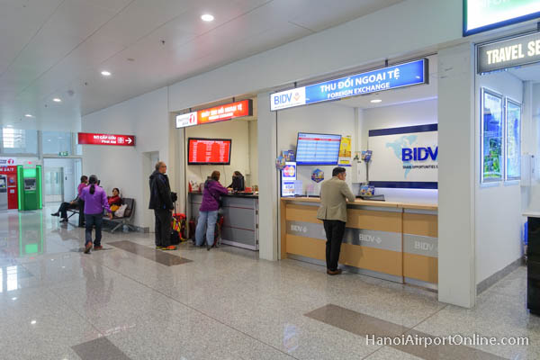 Hanoi Airport Currency Exchange