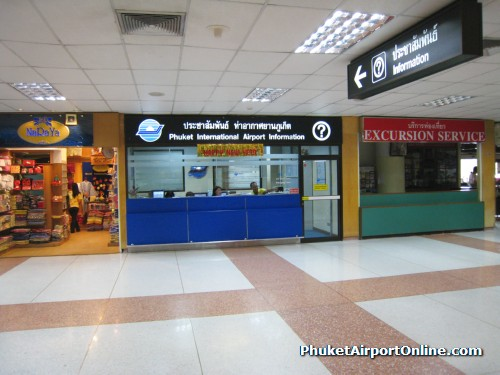 Phuket Airport Information Counter