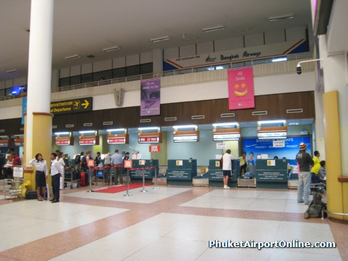 Phuket Airport Check-in Counters