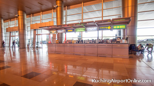 Kuching Airport Car Rental Counters