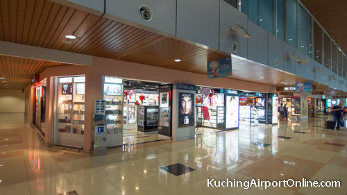 Kuching Airport Duty Free Shopping