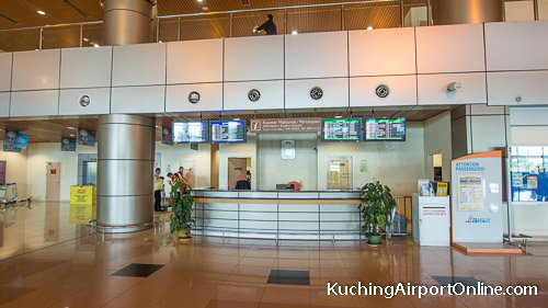Kuching Airport Information Counter