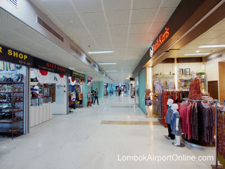 Lombok Airport Shopping