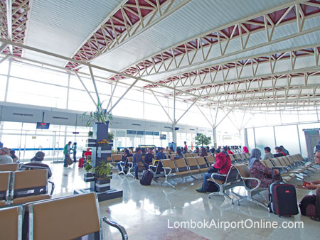 Lombok Airport International Departures