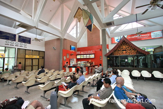 Luang Prabang Airport Waiting Area
