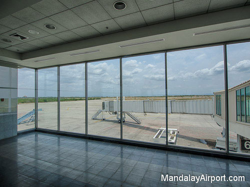 Mandalay Airport Departure Gate