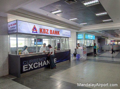 Arrivals - Currency Exchange