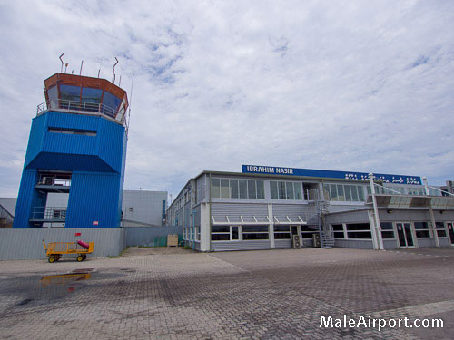 Male International Airport Control Tower