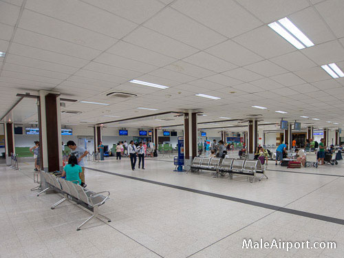 Male Airport International Check-in Counters