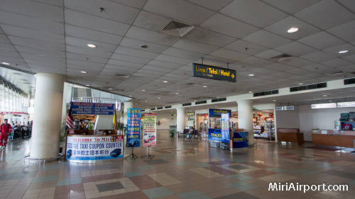 Executive Taxi Counter Miri Airport