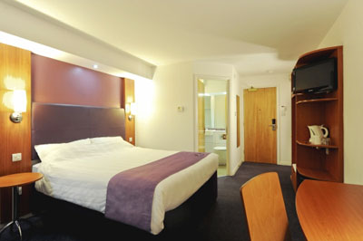 Newcastle Airport Premier Inn Room Interior