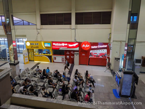 Airline sales counters