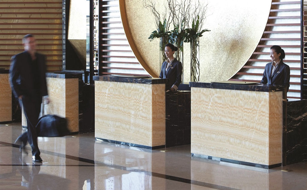 Front Desk at Langham Place Beijing Capital Airport