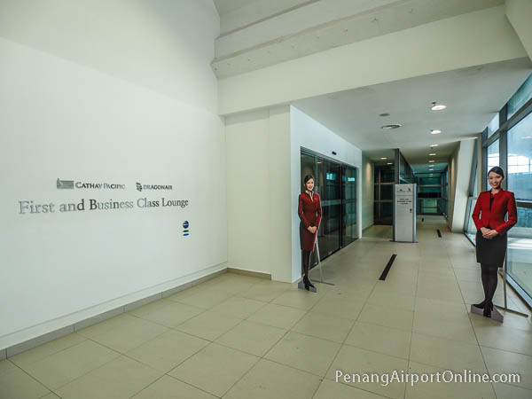 Cathay Pacific and Dragonair First and Business Class Lounge