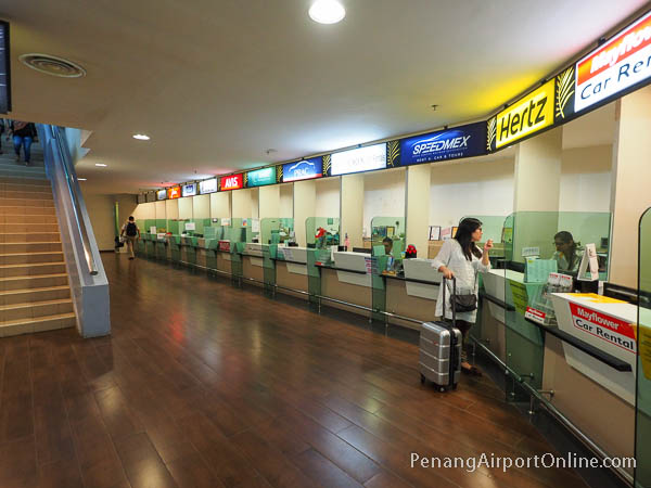 Penang Airport Car Rental Counters
