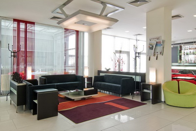 Holiday Inn Ruzyne Airport Lobby