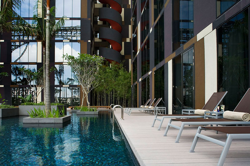 crowne plaza hotel changi airport singapore airport hotel