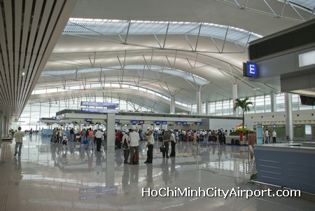 Ho Chi Minh City (Saigon) Airport Check-in Desks