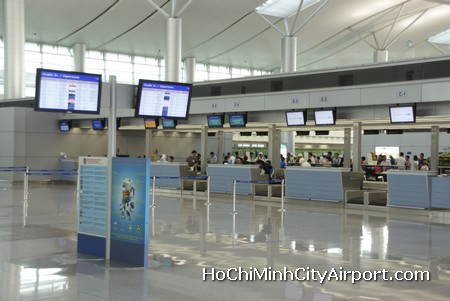 Ho Chi Minh City Airport Check-in Counters