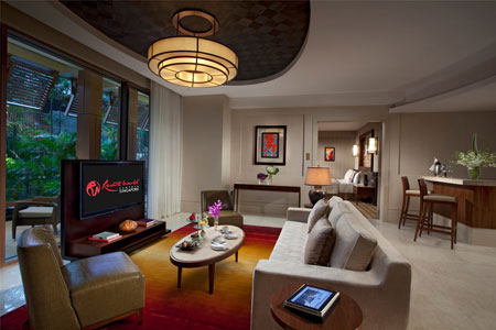 Equarius Hotel Suite Interior