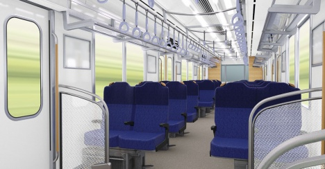 Seats arranged for weekend trips