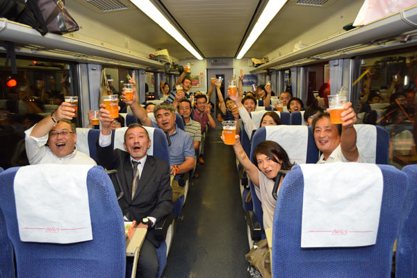 Here's hoping the Yebisu Beer Train continues to run as an ongoing annual event. Kampai!