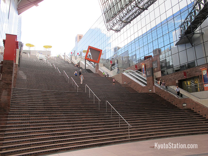 The Grand Stairway at Kyoto Station