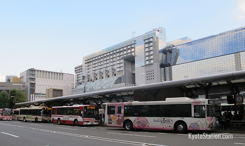 Buses at Kyoto Station