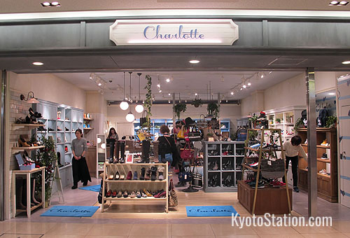Shop at Charlotte for ladies shoes and bags