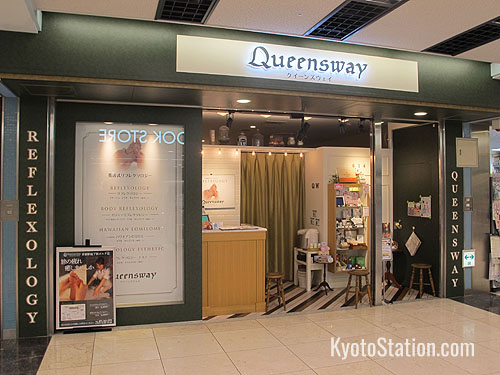 Reflexology and Hawaiian style massage at Queensway