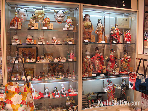 Dolls and masks at Kanoya Kitakishi