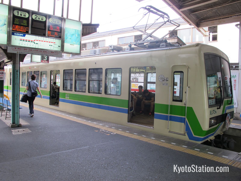 The Eizan Electric Railway for Kibune, Kurama & Mount Hiei - Kyoto Station