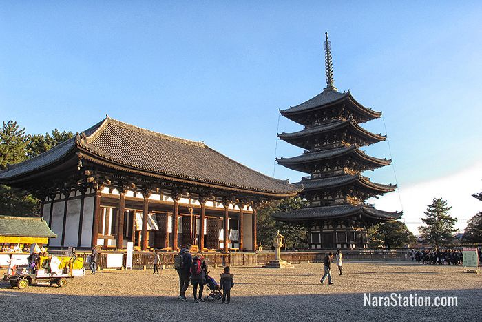 The Eastern Golden Hall and Five Story Pagoda of Kofukuji
