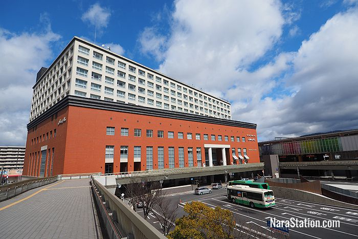 Hotel Nikko Nara is located directly outside the West exit of JR Nara Station