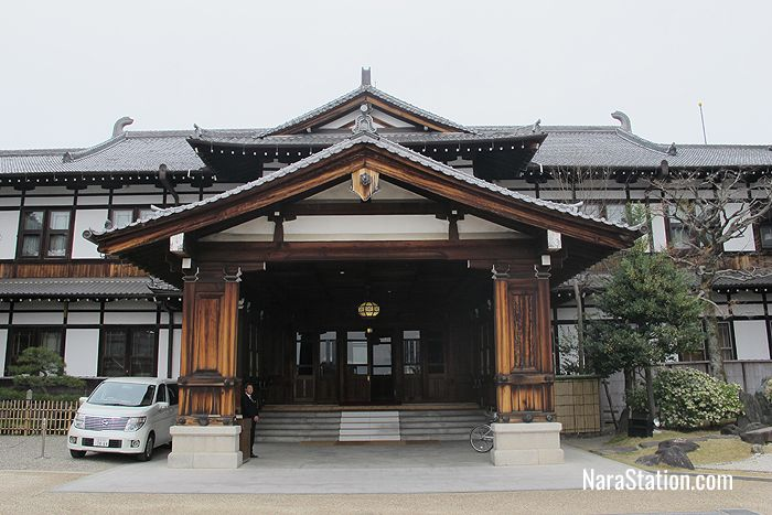 A Meiji era hotel with beautiful traditional Japanese architecture