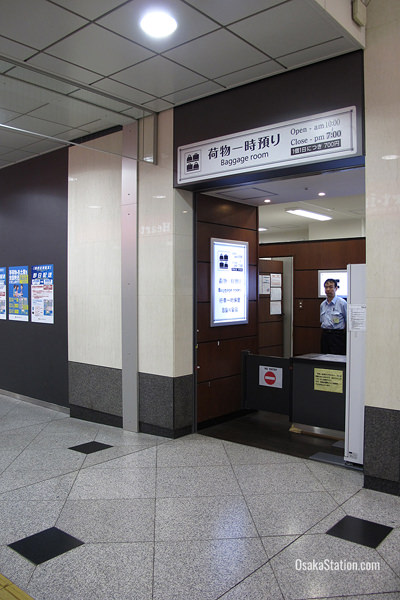 The Baggage Room at Osaka Station