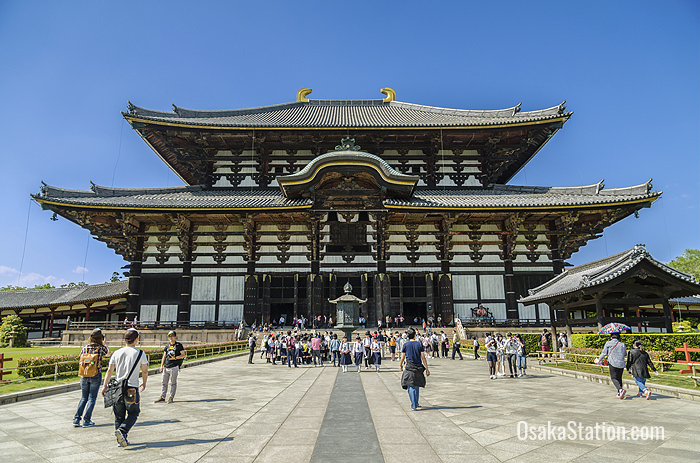 Todai-ji - one of The Seven Great Temples of Nara